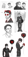 daredevil dump by hazumonster