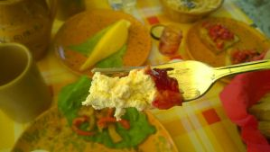 Jam and cottage cheese by Aster1989