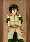 Toph Beifong by MadnessInMeadow