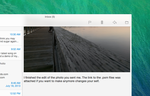 OS X Mail Frost Top Bar by r2ds
