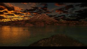 the great mountain by SwissAdA
