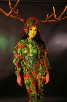 Jessica Goddess of the Forest 001 by marshon