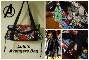 My Avengers Bag by lulufae