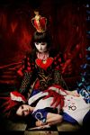 Alice Liddell and Queen of Hearts 4 by LucyIeech
