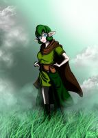 Study - Saria 2 by UndyingNephalim