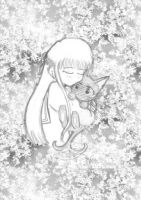 Tohru and Kitty Kyo by Glimare