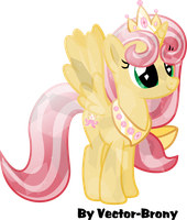 Princess Royal Ribbon crystallized by Vector-Brony