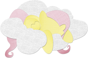 Canvas Paper Fluttershy by Saw-Buck