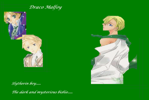 Draco Malfoy Wallpaper by mewpearl