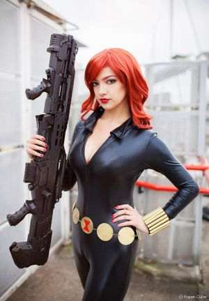 Black Widow - Marvel Comics by Paper-Cube