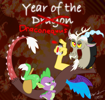 Year of the Draconequus by AleximusPrime