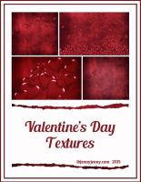 Free Valentine's Day Textures for 2015 by ibjennyjenny