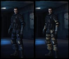 Michael Thorton (Full Tech) by deexie