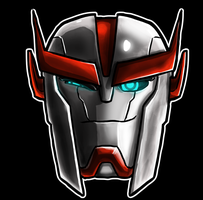 Ratchet Winking  Helm by Laserbot