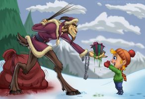 Greetings From the Krampus by Uncle-Bang