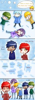 Snow Angels-Kiseki no sedai by SakuraYagami