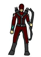 My Newest OC: Crimson Quiver, Agent of RAPTOR by 127thlegion