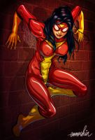 Spider-Woman by emmshin