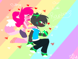 Our Little Rainbow by BittyKitKat