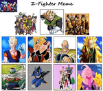 My Alternate Z-Warriors by Mr-Wolfman-Thomas