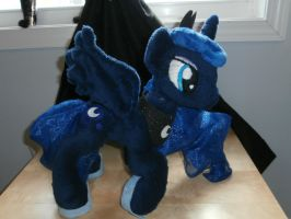 Princess Luna Plushie by Uminohoshi