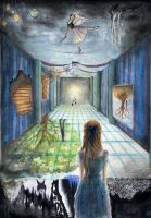 Real and Imaginary Room - school work by The-Purring-Teapot