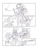 Knife to a blaster fight p2. by commander-13