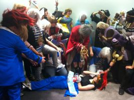 AX day 3 yugioh gathering by DrGengar