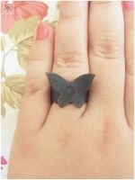 Butterfly ring by wakingthewitchnakit