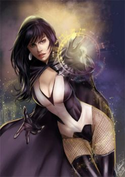 Zatanna by Forty-Fathoms