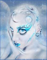 . mermaid of the universe. by Countess-Grotesque