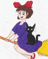 Kiki's Delivery Service by Kungrea