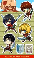 LETS ATTACK ON TITAN !!! by yuilien