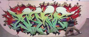 I painted this at the Benfleet Skatepark by Brave-one