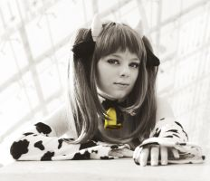 Mikuru Asahina - Black : White by leashed-freak