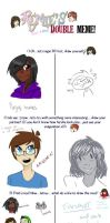 double meme with cutipie411!!!!! by citadelity