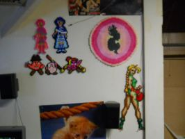 Perler wall 3 by fate82