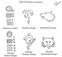 Wolf O'Donnell Accessories 01 by MDTartist83