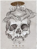 Toad Skull by addisonwoolworth