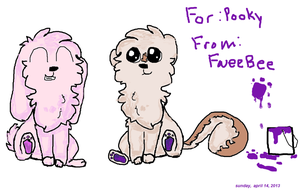 Pooky and FweeBee by AnimatedSquirrel