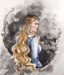 Princess of Nargothrond by liga-marta