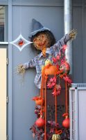 autumn decoration with bogle by ingeline-art