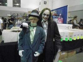 Hatter and Joker by ObscurusVII