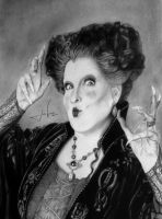 Bette Midler as Winifred Sanderson - Hocus Pocus! by joaovictorbastos