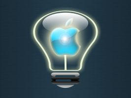 Apple Light Bulb by WolfvanWhite