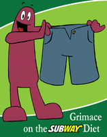 Subway Grimace by Bug-Off