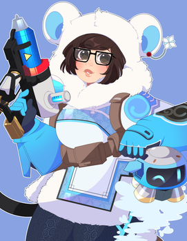 Overwatch: It's Gonna Be Mei by QueenAshi