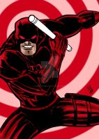 Daredevil Old School Color by nic011