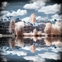Lake View Berlin Havel infrared by MichiLauke