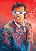 The Tenth Doctor by OctopusTimelord